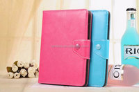 Hotting colorful roating PU leather universal 7inch tablet case for PC