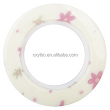 630-13 Flower Luxury Plastic Curtain Eyelet Ring