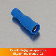 Azul 16-14A.W.G totalmente aislado mujer bullet conector receptáculo FRD2-156