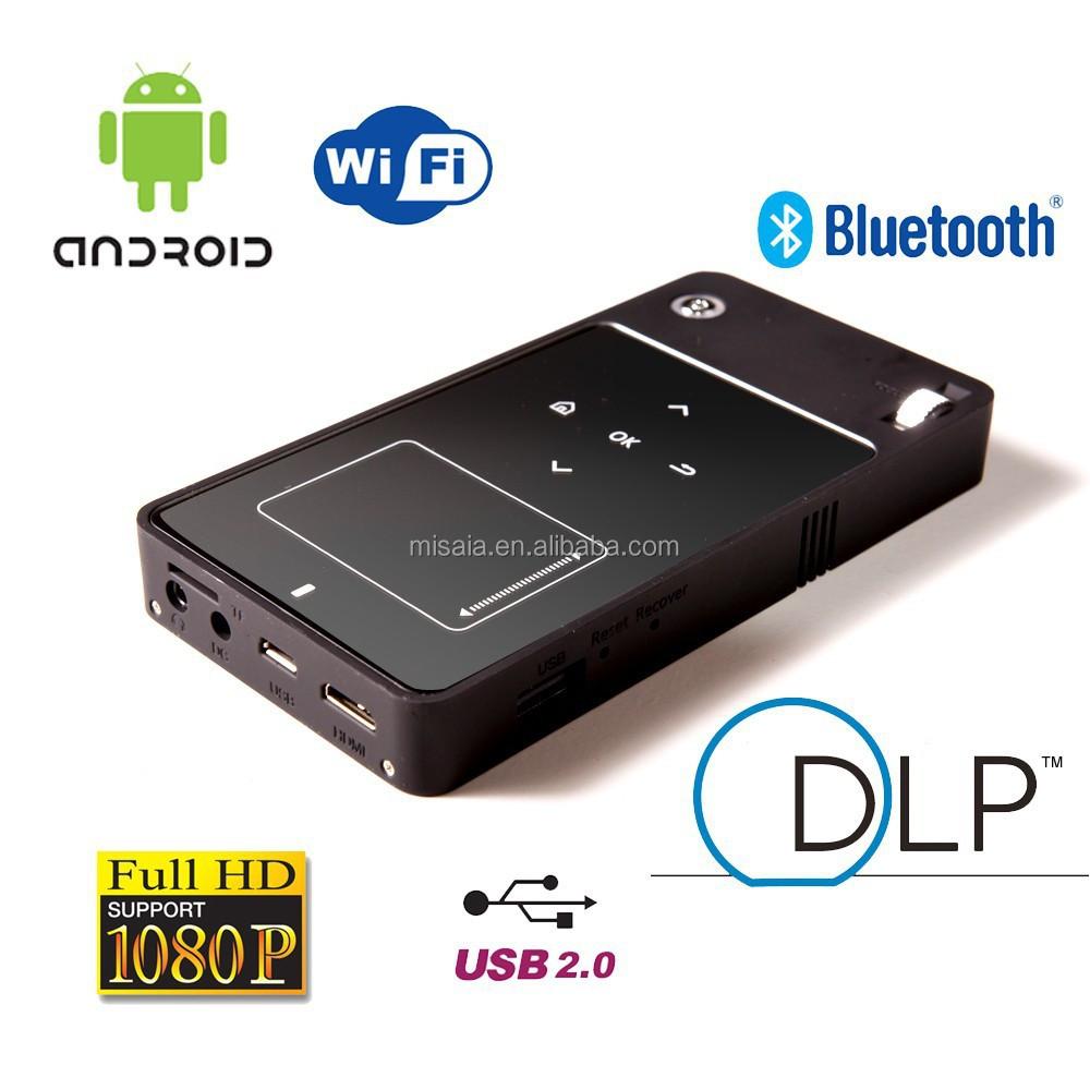 Android smart portable smart led mini projector buy mini for Mini smart projector