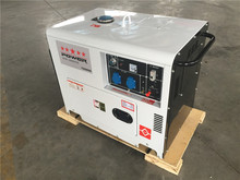 VICOUNTE diesel power generator used, KAMA&HONDA engine, silent portable generator with cheap price, home and garden use, OEM
