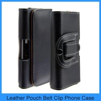 Leather Case Pouch Holster Belt Clip For Samsung Galaxy S IV S4 i9500 S3 i9300 Belt Loop