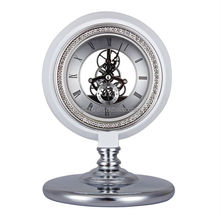 Bedroom Cute Metal Table Clock for Home Decoration JHF14-8050A