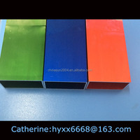 2014 China Green Square Color Natural Anodized Aluminum