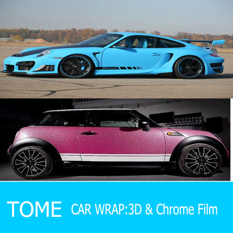 Auto adhesive decoration film car color change wrap vinyl - Decoration murale auto adhesive ...