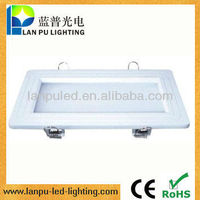 12w smd round led decorative electrical panel covers