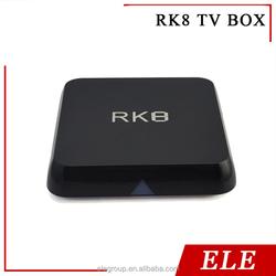 2016 Octa-core RK8 Android5.1 TV BOX 2G/8G 2.4G/5GHz WiFi H.265 4K Media Player