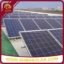 Triangle Load Block Flat Roof Mounting Solar Generator System