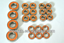 High Performance TAMIYA LAFA ROMEO SPRINT GTA FF-02 ceramic bearing kits with different rubber seal color