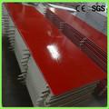 de color rojo compuesto de acrílico hojas de superficie sólida para la tapa de tabla
