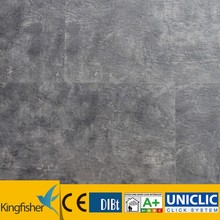 black color vinyl plank floor coverings 4 mm thickness with different wearlayer