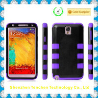 China hybrid cellphone case For Samsung Galaxy Note 3