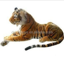 realistic tiger plush toy like real animal shape plush toys