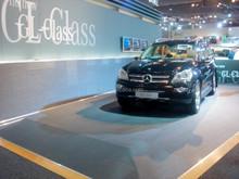 Amazing and wear resistant car show woven vinyl flooring mat