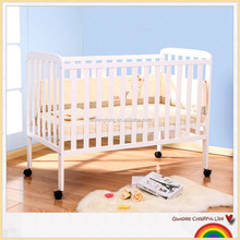 Factory price baby bed protection cots for babies folding travel bed