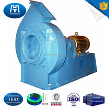 High pressure centrifugal fans and blowers of high efficient backwardly curved type
