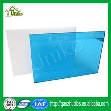 colored plastic pc sheet transparent solar panel