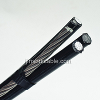 Overhead electrical cable wire 10mm ABC Aerial Bundle Cable for project