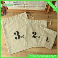 small fabric drawstring bags cheap muslin cotton drawstring pouch