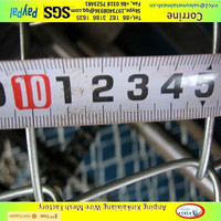 chain link fence per sqm weight, cheap plastic pvc coated galvanized chain link fence for sale factory ,