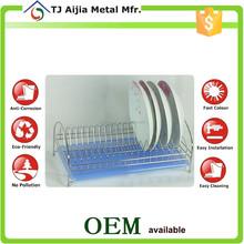 slim iron Wire Kitchen Storage Racks dish holders