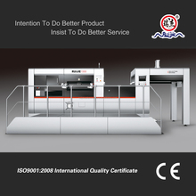 Manual and Automatic Corrugated Paperboard Platen Die Cutting Machine