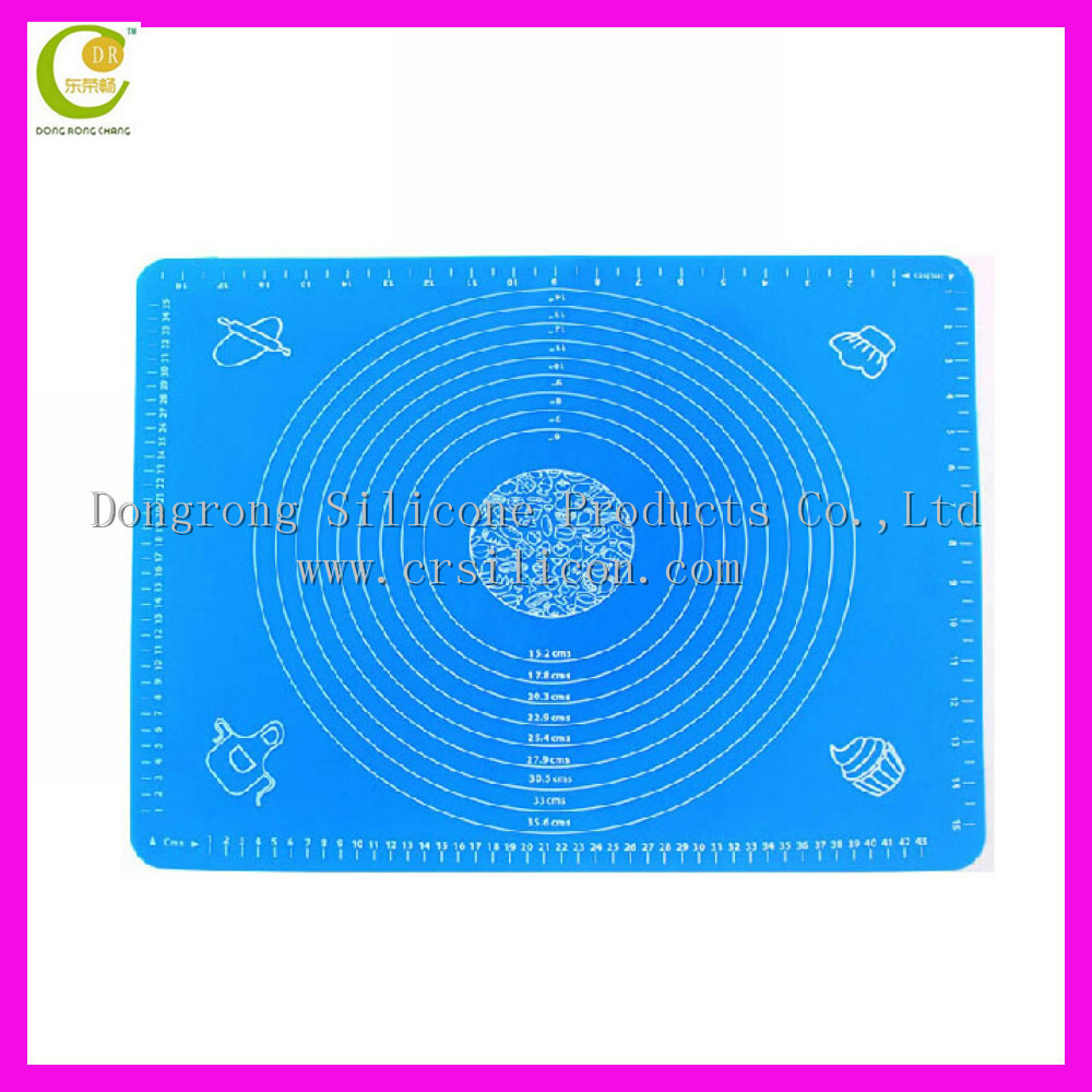 Wholesale Silicone Non Stick Sheet Blue Liner Mat Roll