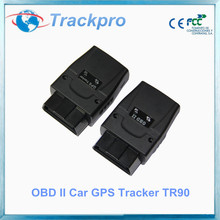 Vehicle GPS Tracker OBD2 OBDII Plug Car Tracking Systems Android iOS App Support
