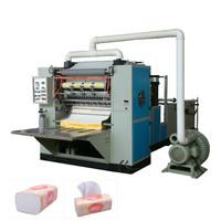 2015 China Full Automatic Box Drawing Face Paper Folding Machine