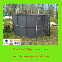 PUXIN 10m3 household biogas product biogas generator plant price