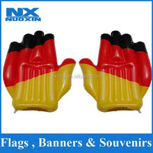 French flag inflatable hand wholesale