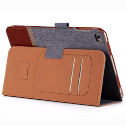 For Ipad Mini 4 Smart Leather Case Ultra Thin With Back Cover Case