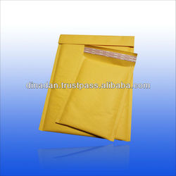 Sealing and custom kraft bubble envelope