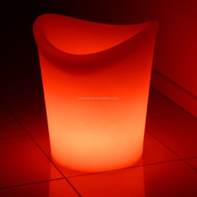 Led Illuminated Ice Bucket/Casin Beer Cooler/led Flower Pot
