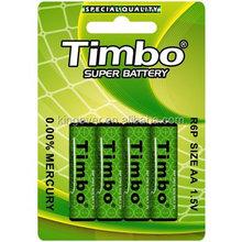 AA dry cell battery POWER zinc manganese AA battery