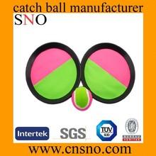 velcro beach racket toy set,velcro throw and catch ball