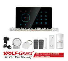 Wolf guard home automation !APP Control !RFID+Touch Keypad smart gsm alarm sms system