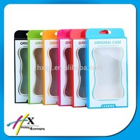 Digital Mobile Case Packaging with Clear PVC Window