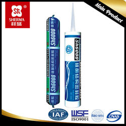 Quality guarantee Acetic cured Silicone sealant for glass