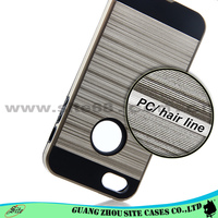 Fashion phone accessories dual layer slim armor cellphone case For iphone 4 5 6