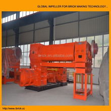 2015 new product machine clay brick machine ecological environmental protection