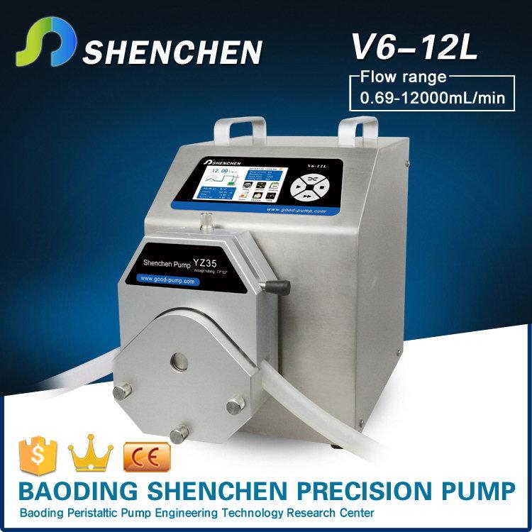 Handheld Water Meter Pump : Hand operated metering pump for cosmetic high precision