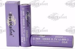 2015 newest BestKalint Original 35A discharge current 18650 battery for e cigarette mod the best high drain li-ion batterys