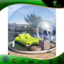 Wonderful Cheap Inflatable Clear Tent /Inflatable Camping Transparent Tent