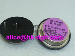 Coin type lithium battery TL-5186 1/2AA 3.6V 400mah new and original plc battery cnc battery