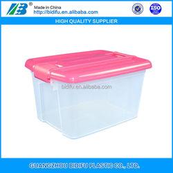 plastic tote bins