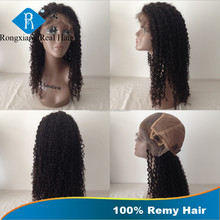 100% Remy Natural Kinky Curl human hair full lace wig in dubai