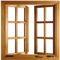 Customized metal frame glass window