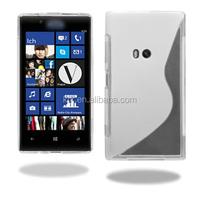 Soft TPU Gel S line Skin Cover Case For Nokia Lumia 920