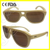 2015 recycled custom logo printed lenses sunglasses with UV400 lens
